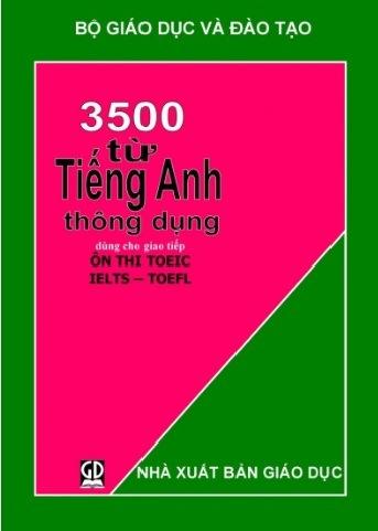 Tải sách: 3500 Từ Vựng Tiếng Anh Thông Dụng Nhất