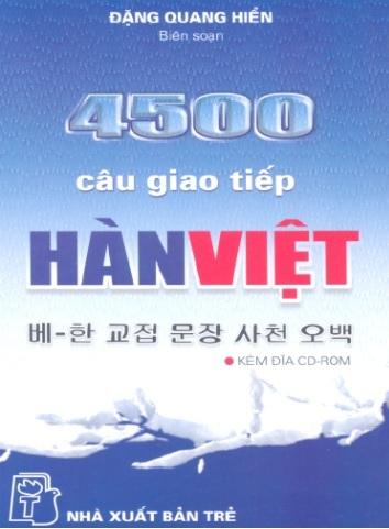 Tải sách: 4500 Câu Giao Tiếp Hàn Việt (Ebook + Audio)