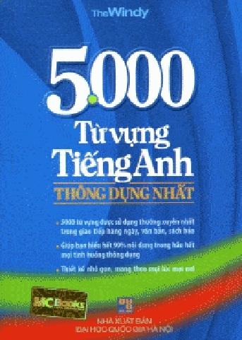 Tải sách: 5000 Từ Vựng Tiếng Anh Thông Dụng Nhất