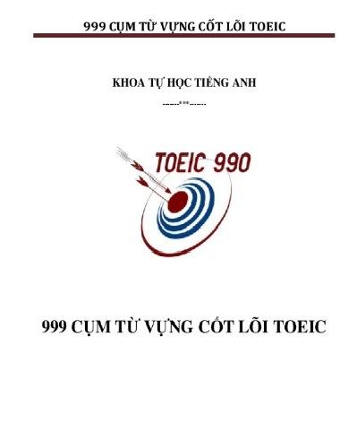 Tải sách: 999 Từ Vựng Cốt Lõi Toeic