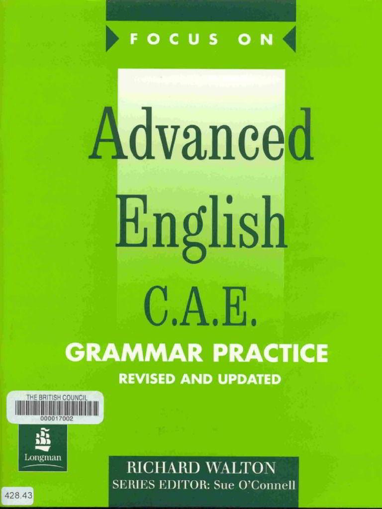 Tải sách: Advanced English C A E Grammar Practice 2