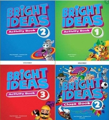 Tải sách: Bright Ideas Levels 1,2,3 Full Ebook + Audio + Video