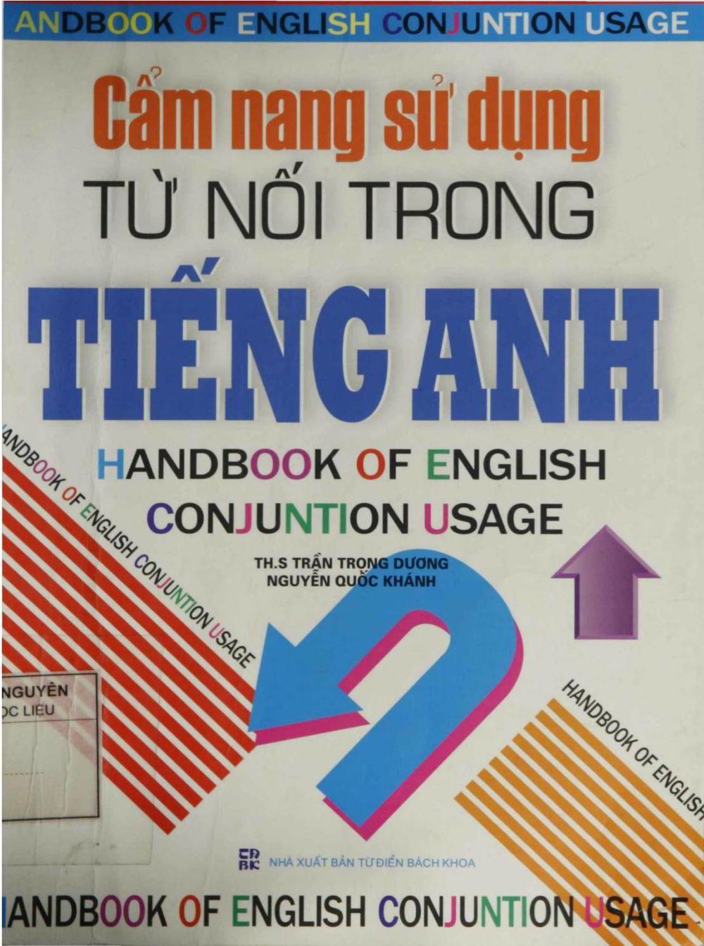 Tải sách: Cẩm Nang Sử Dụng Từ Nối Trong Tiếng Anh