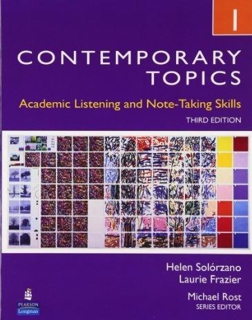 Tải sách: Contemporary Topics 1,2,3 ( Full Ebook+Audio)