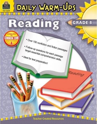 Tải sách: Daily Warm-Ups Reading Grade 8