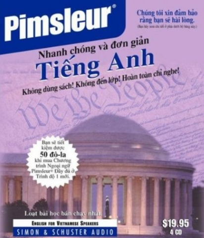 Tải sách: Pimsleur English: Phương Pháp Học Tiếng Anh Kinh Điển (Full Ebook +Audio)