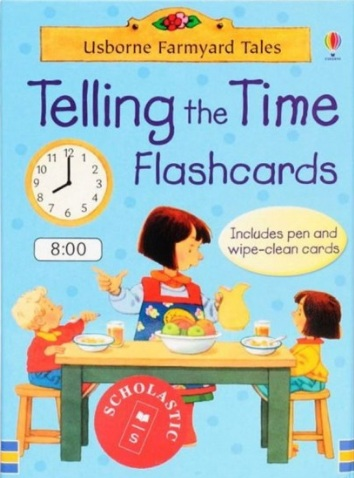 Tải sách: Telling The Time Flashcards