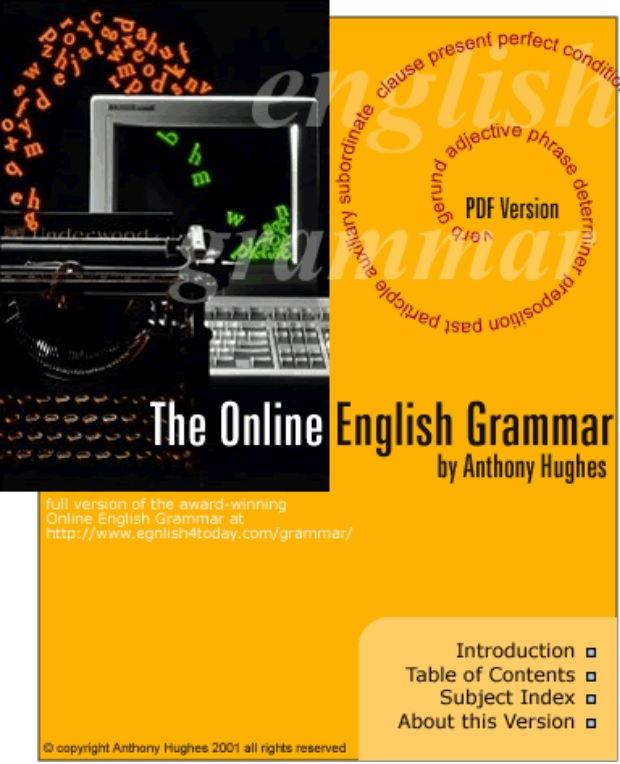 Tải sách: The Online English Grammar (Cuốn Sách Ngữ Pháp Có 1 Không 2)