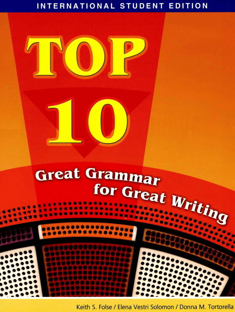 Tải sách: Top 10 Great Grammar For Great Writing