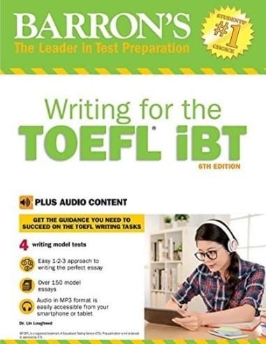 Tải sách: Writing For The TOEFL IBT Full Ebook + Audio
