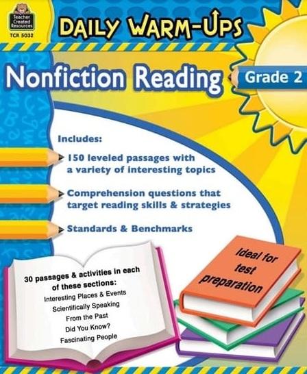 Tải sách: Daily Warm-Ups Nonfiction Reading Grade 2
