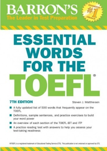 Tải sách: Essential Words For The TOEFL, Edition 2018