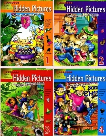 Tải sách: Hidden Pictures 1,2,3,4