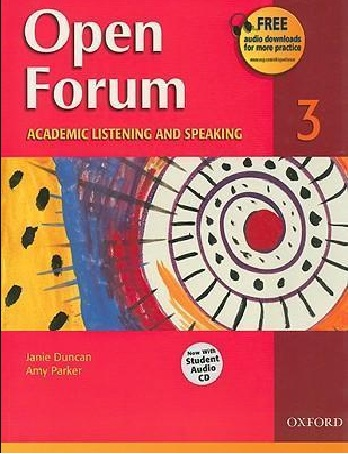 Tải sách: Open Forum 3 – Tài Liệu Học Giao Tiếp Tiếng Anh Full Ebook+Audio
