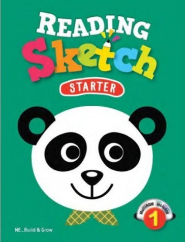 Tải sách: Reading Sketch Starter 1,2,3 Full Ebook+Audio