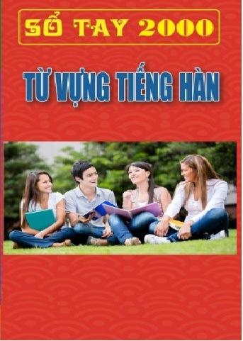 Tải sách: Sổ Tay 2000 Từ Vựng Tiếng Hàn