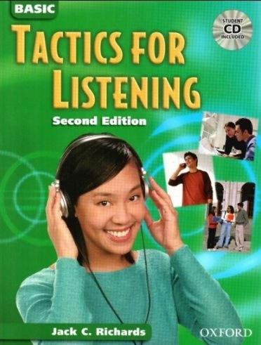 Tải sách: Tactics For Listening Full 3 Bộ Ebooks+Audio