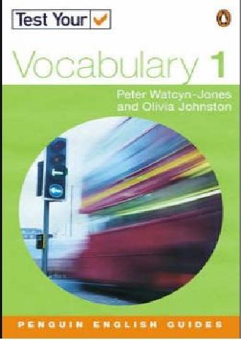 Tải sách: Test Your Vocabulary 1