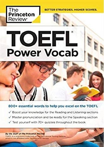 Tải sách: TOEFL Power Vocab – Princeton Review