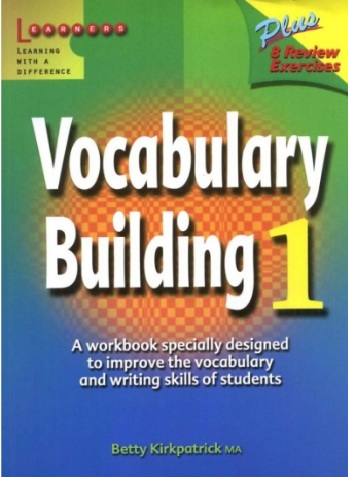 Tải sách: Vocabulary Building 1,2,3,4 – Betty Kirkpatrick