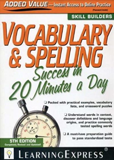 Tải sách: Vocabulary & Spelling Success In 20 Minutes A Day