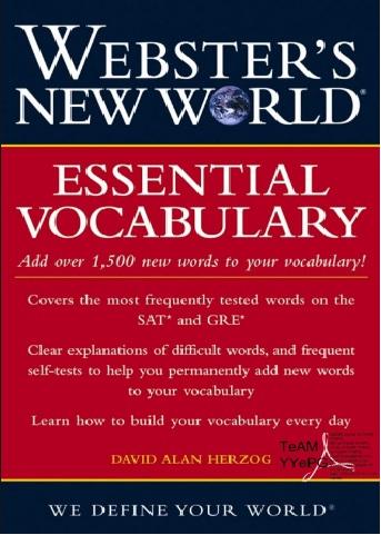 Tải sách: Webster Essential Vocabulary