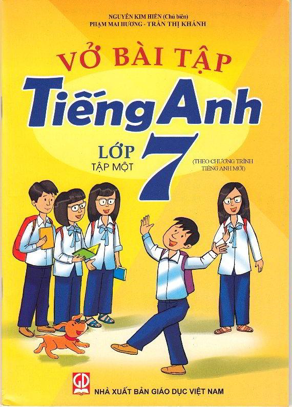 Tải sách: Vở bài tập tiếng anh lớp 7 tập 1,2 – Nguyễn Kim Hiền