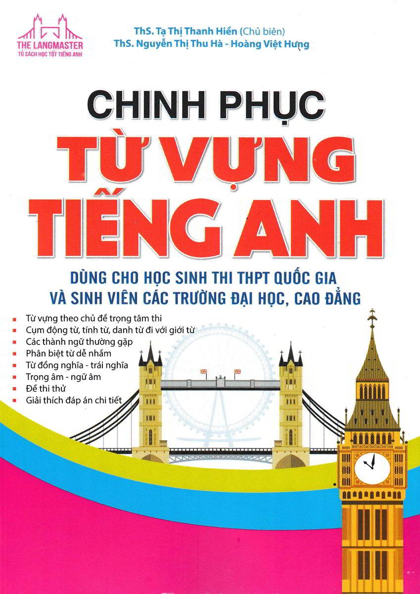 Tải sách: Chinh phục từ vựng tiếng anh – Tạ Thị Thanh Hiền