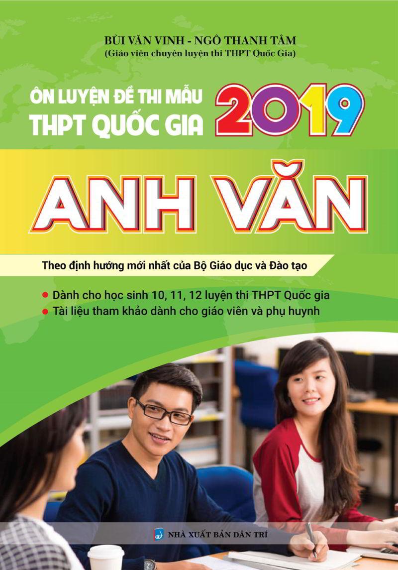 Tải sách: Ôn luyện đề thi mẫu THPT Quốc Gia 2019 Tiếng Anh