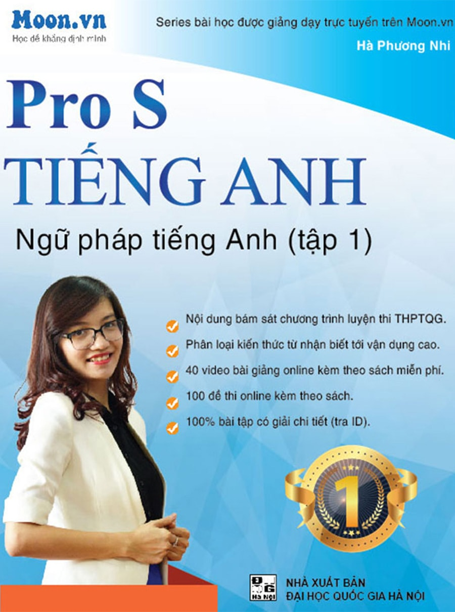 Tải sách: Pro S tiếng anh ngữ pháp Tiếng Anh tập 1 – Cô Mai Phương