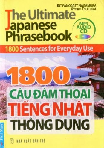 Tải sách: 1800 Câu Đàm Thoại Tiếng Nhật Thông Dụng Full Ebook + Audio