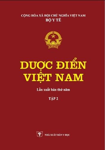 Tải sách: Dược Điển Việt Nam 5 Tập 1 Tập 2 (Bản đầy đủ nhất)
