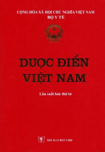 Tải sách: Dược Điển Việt Nam (Tái Bản Lần Thứ 4 )
