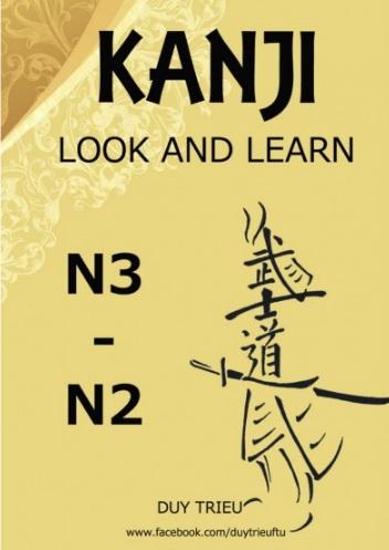 Tải sách: Kanji Look And Learn N3 – N2 Bản Tiếng Việt