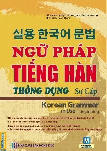 Tải sách: Ngữ Pháp Tiếng Hàn Thông Dụng Sơ Cấp
