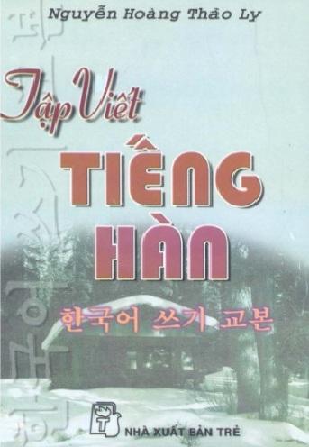 Tải sách: Tập Viết Tiếng Hàn Quốc