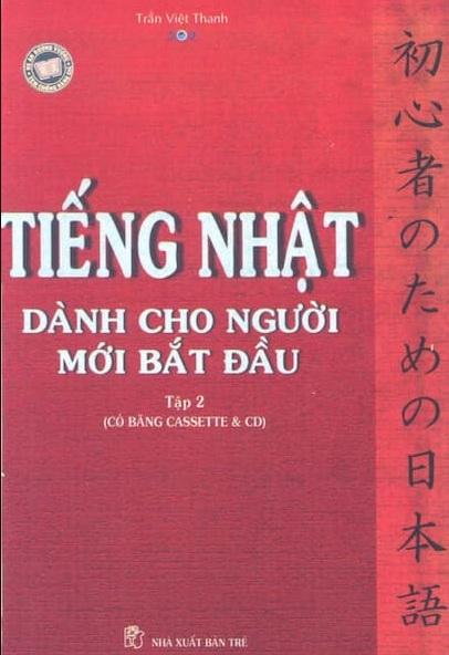 Tải sách: Tiếng Nhật Dành Cho Người Mới Bắt Đầu Tập 2