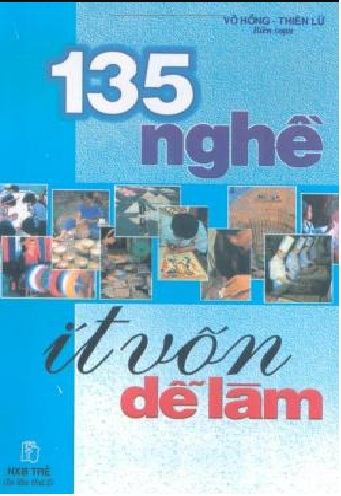 Tải sách: 135 Nghề Ít Vốn Dễ Làm