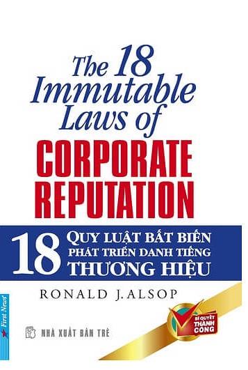 Tải sách: 18 Quy Luật Bất Biến Phát Triển Danh Tiếng Thương Hiệu Công Ty