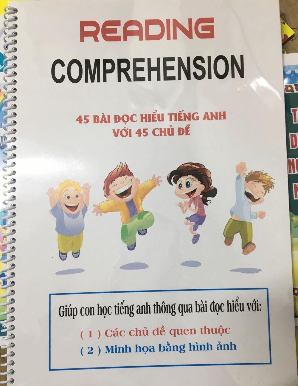 Tải sách: Reading comprehension 45 bài đọc hiểu tiếng anh