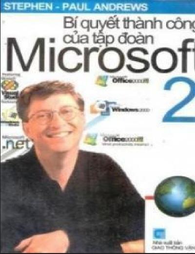 Tải sách: Bí Quyết Thành Công Của Tập Đoàn Microsoft