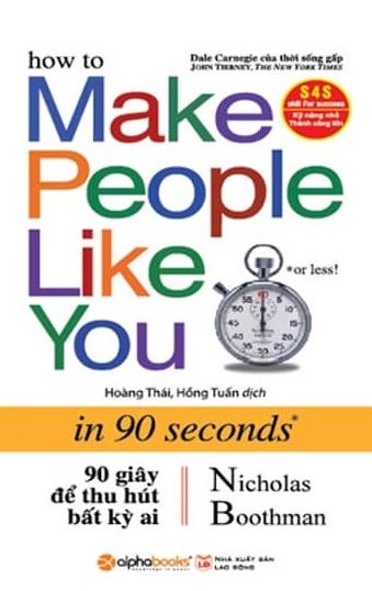 Tải sách: 90 Giây Để Thu Hút Bất Kỳ Ai