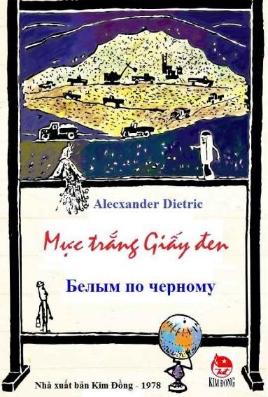 Tải sách: Mực Trắng Giấy Đen – Alecxander Dietric