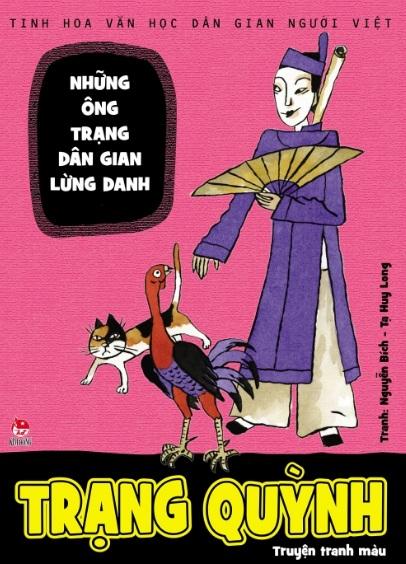 Tải sách: Trạng Quỳnh – Truyện Dân Gian Việt Nam Minh Họa Tranh Màu