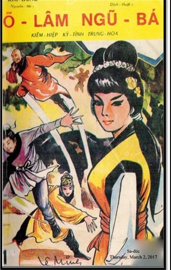 Tải sách: Võ Lâm Ngũ Bá – Kim Dung