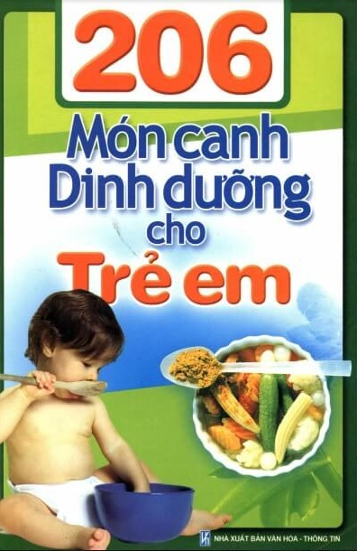Tải sách: 206 Món Canh Dinh Dưỡng Cho Trẻ Em