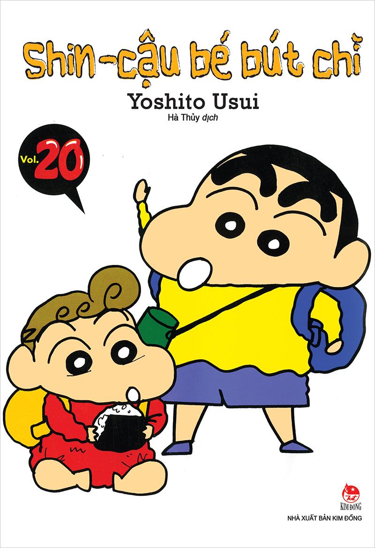 Tải sách: Trọn bộ 43 tập Shin – Cậu bé bút chì
