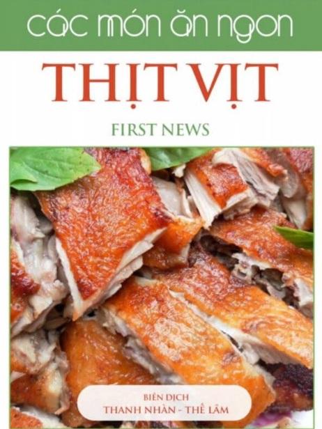 Tải sách: Các Món Ăn Ngon Thịt Vịt