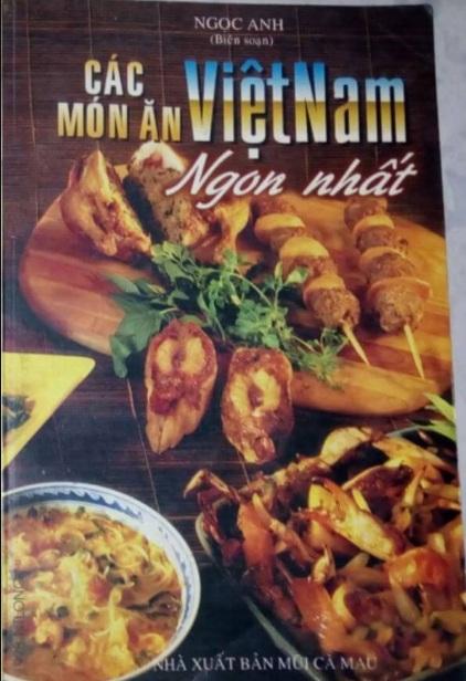 Tải sách: Các Món Ăn Việt Nam Ngon Nhất