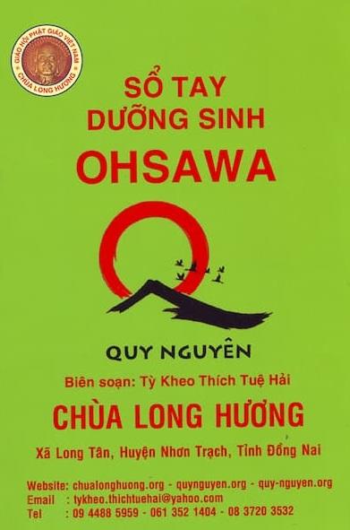 Tải sách: Sổ Tay Dưỡng Sinh Ohsawa